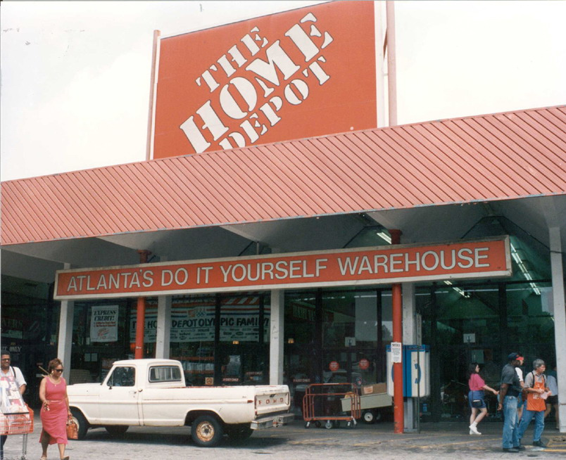 The home depot history for Shop home depot