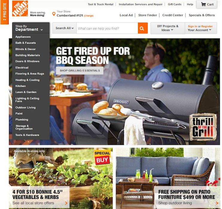 Shop Home Depot: THROWBACK THURSDAY: HOMEDEPOT.COM THEN