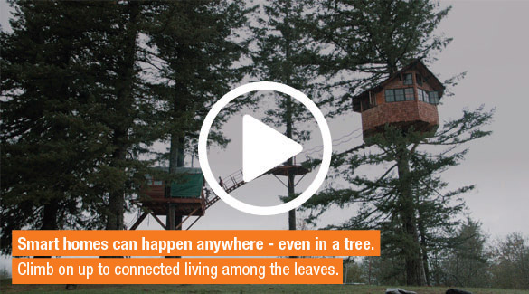 Smart treehouse