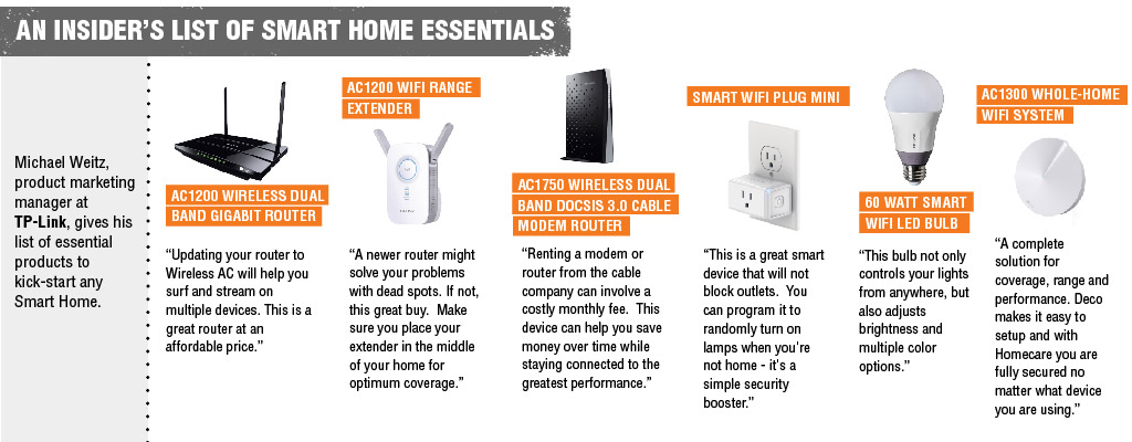 An Insider's List of Smart Home Essentials