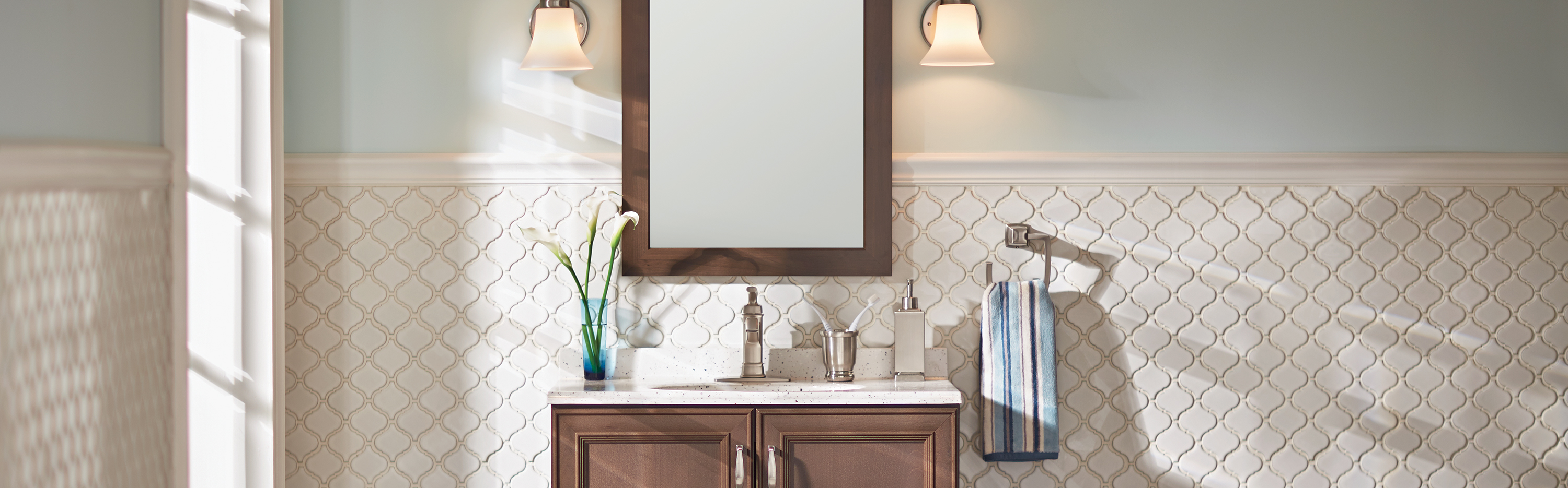 The Home Depot | 4 WAYS TO UPDATE YOUR BATHROOM ON A BUDGET