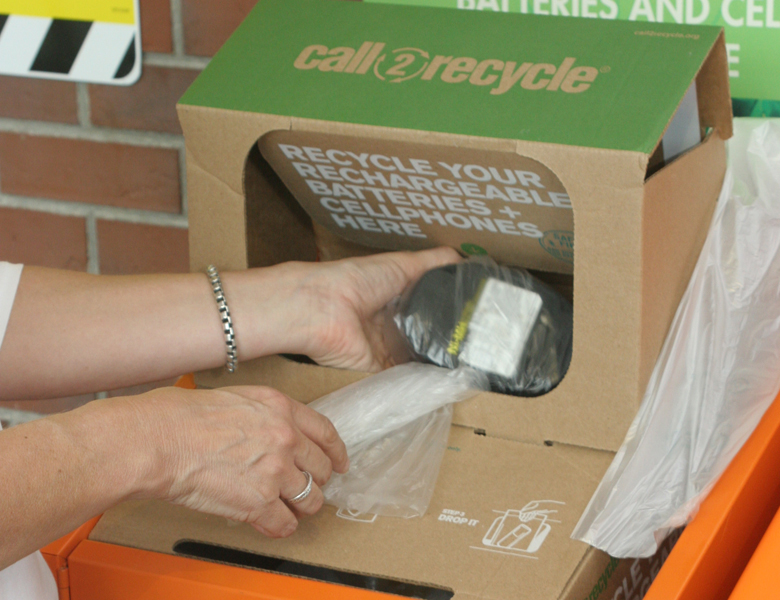 The Home Depot | CALL2RECYCLE: THE HOME DEPOT RECYCLES ONE