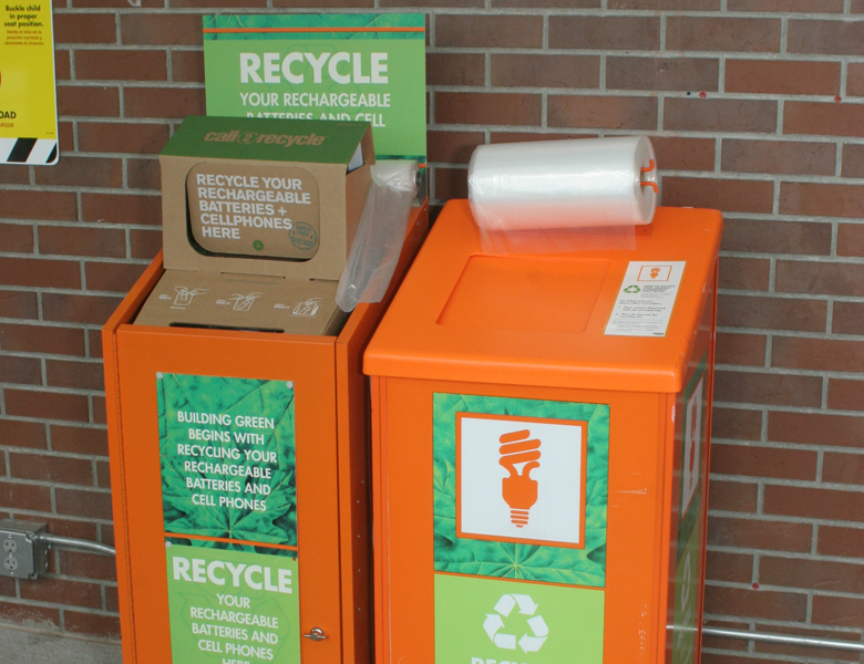 Battery Recycling Station