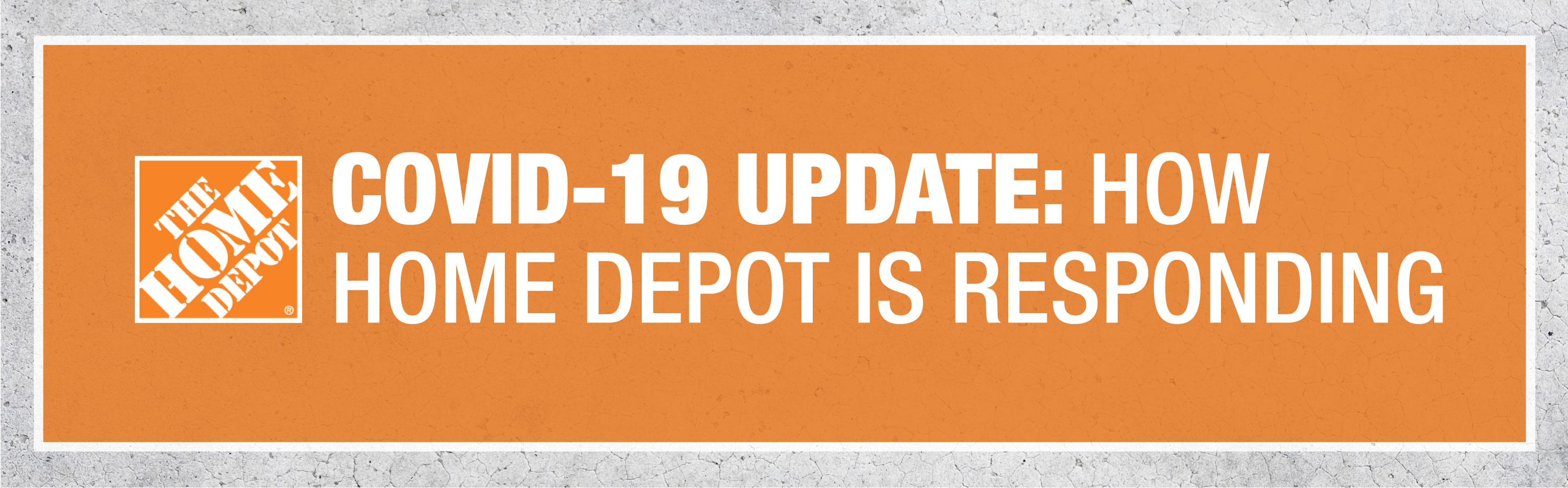 The Home Depot Covid 19 Update How Home Depot Is Responding