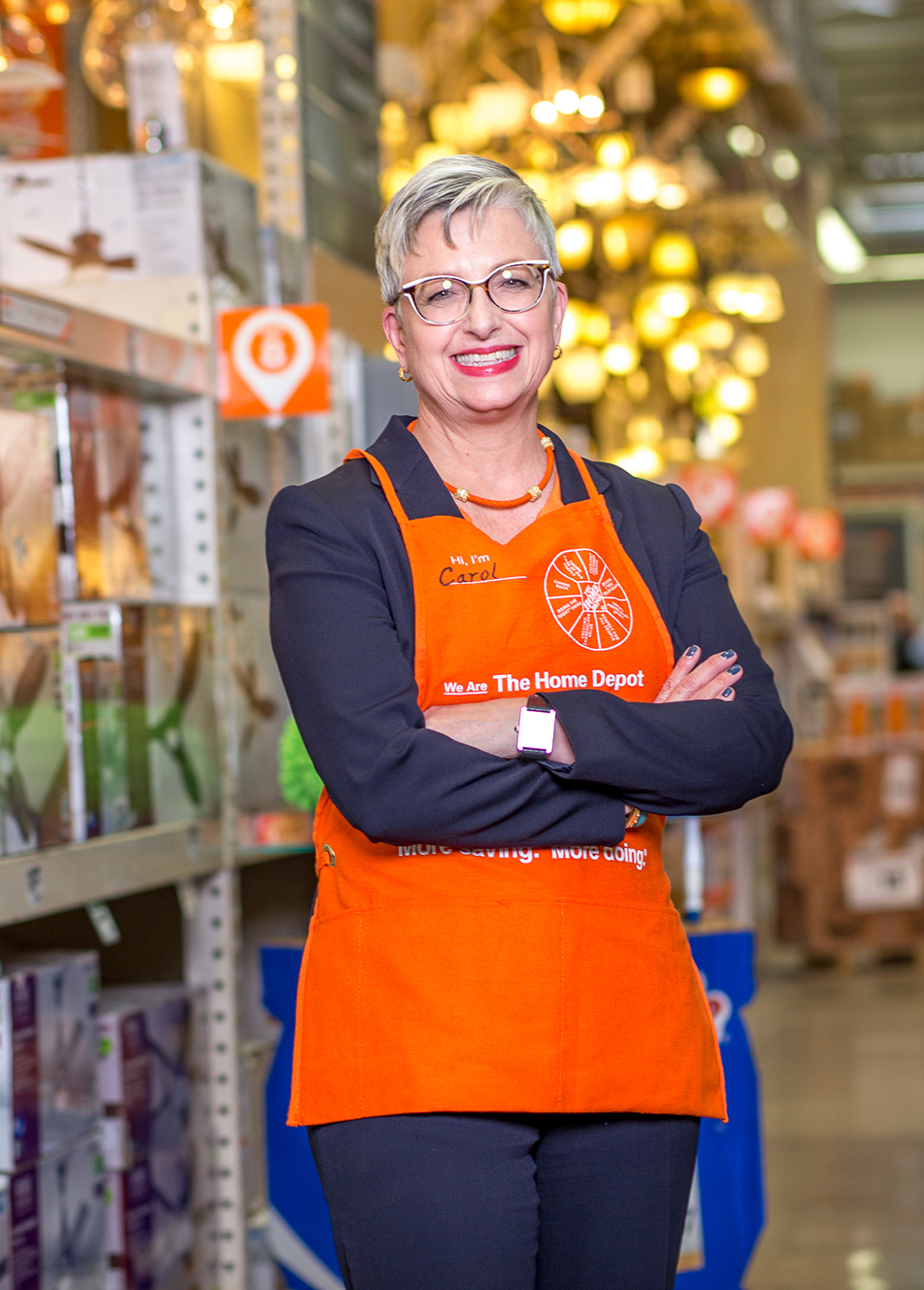the home depot carol b tomé chief financial officer executive