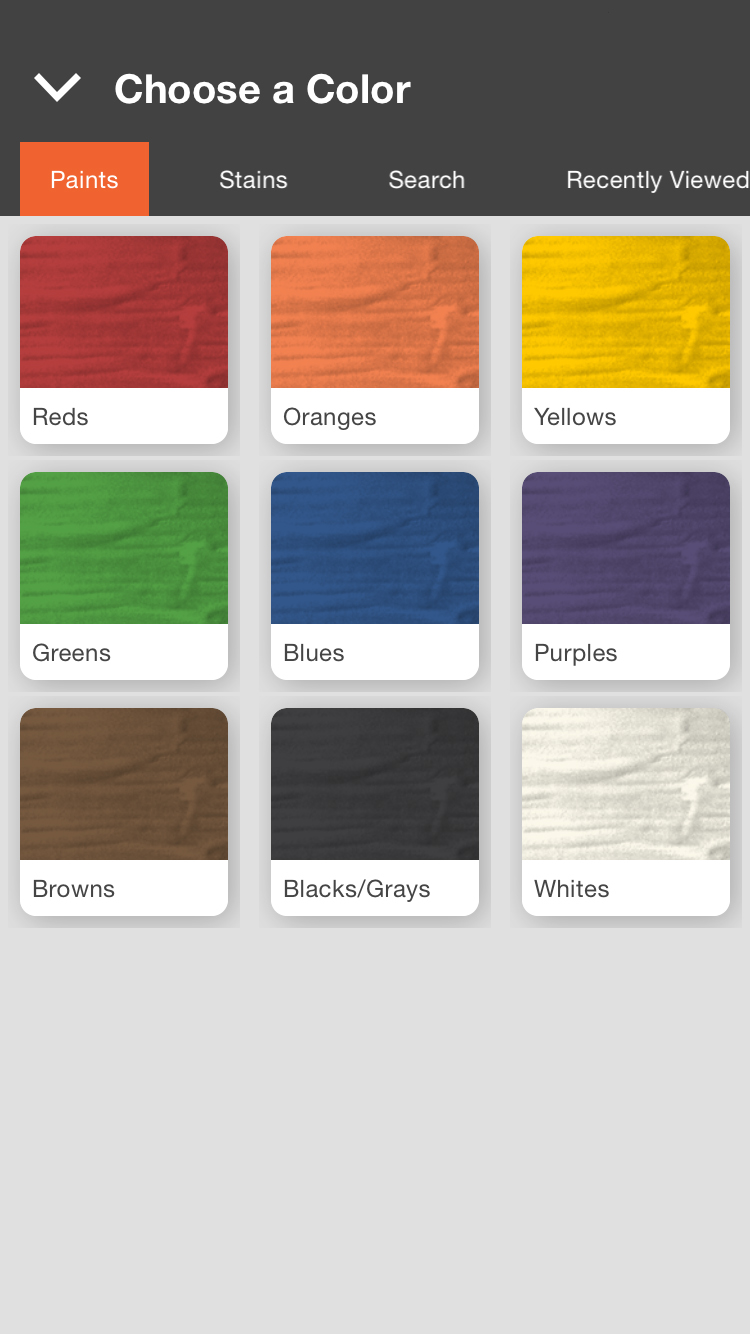 Lowes Paint App >> The Home Depot New Technology Shows You The Perfect Paint