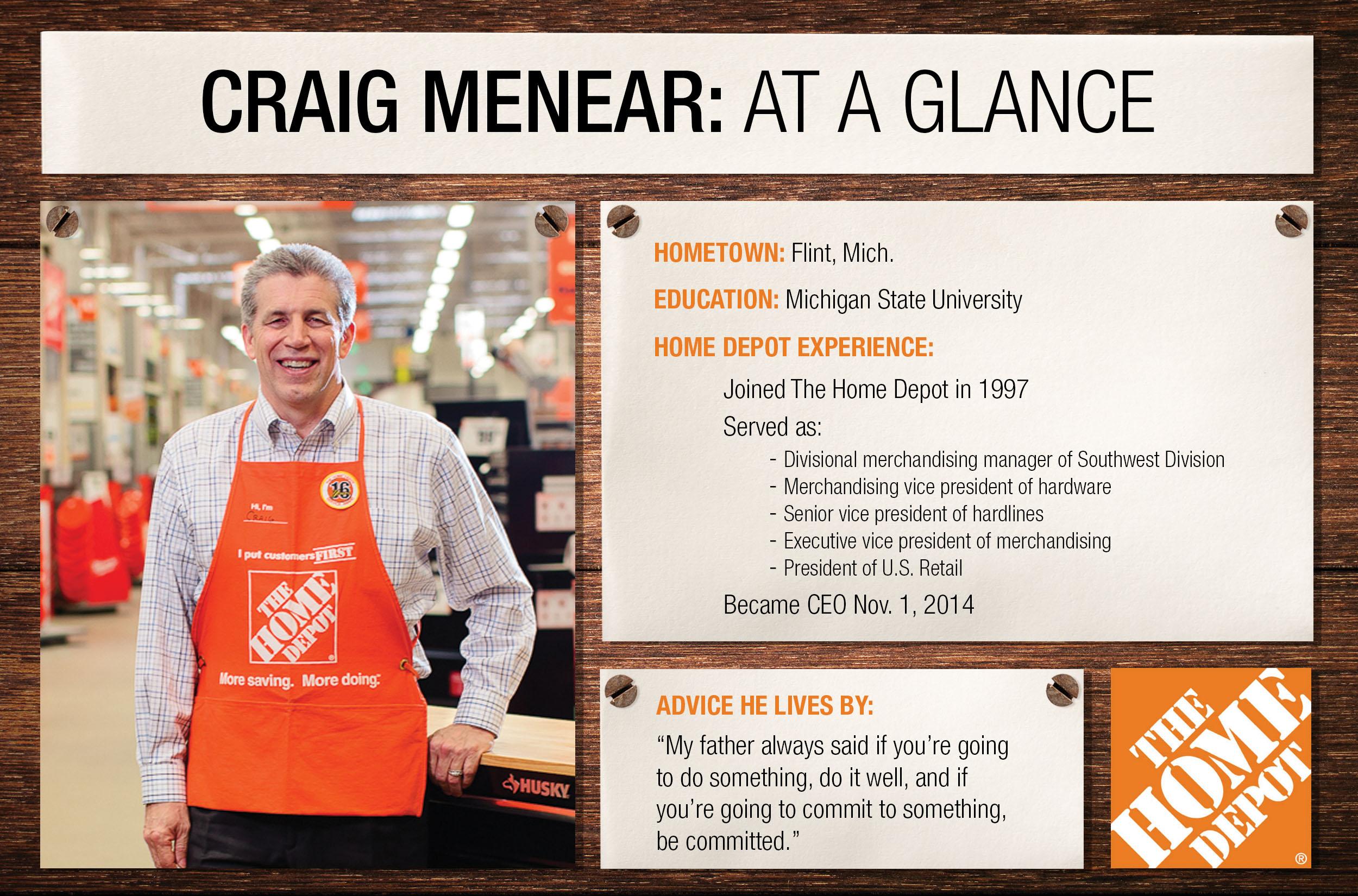 Craig Menear Home Depot 28 Images Craig Menear Home