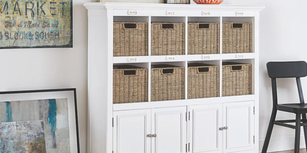 Home Decorators Collection cube storage
