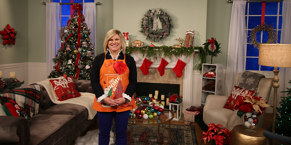 The Home Depot | DECK THE HALLS: 5 HOLIDAY DÉCOR TIPS FROM DESIGN ...