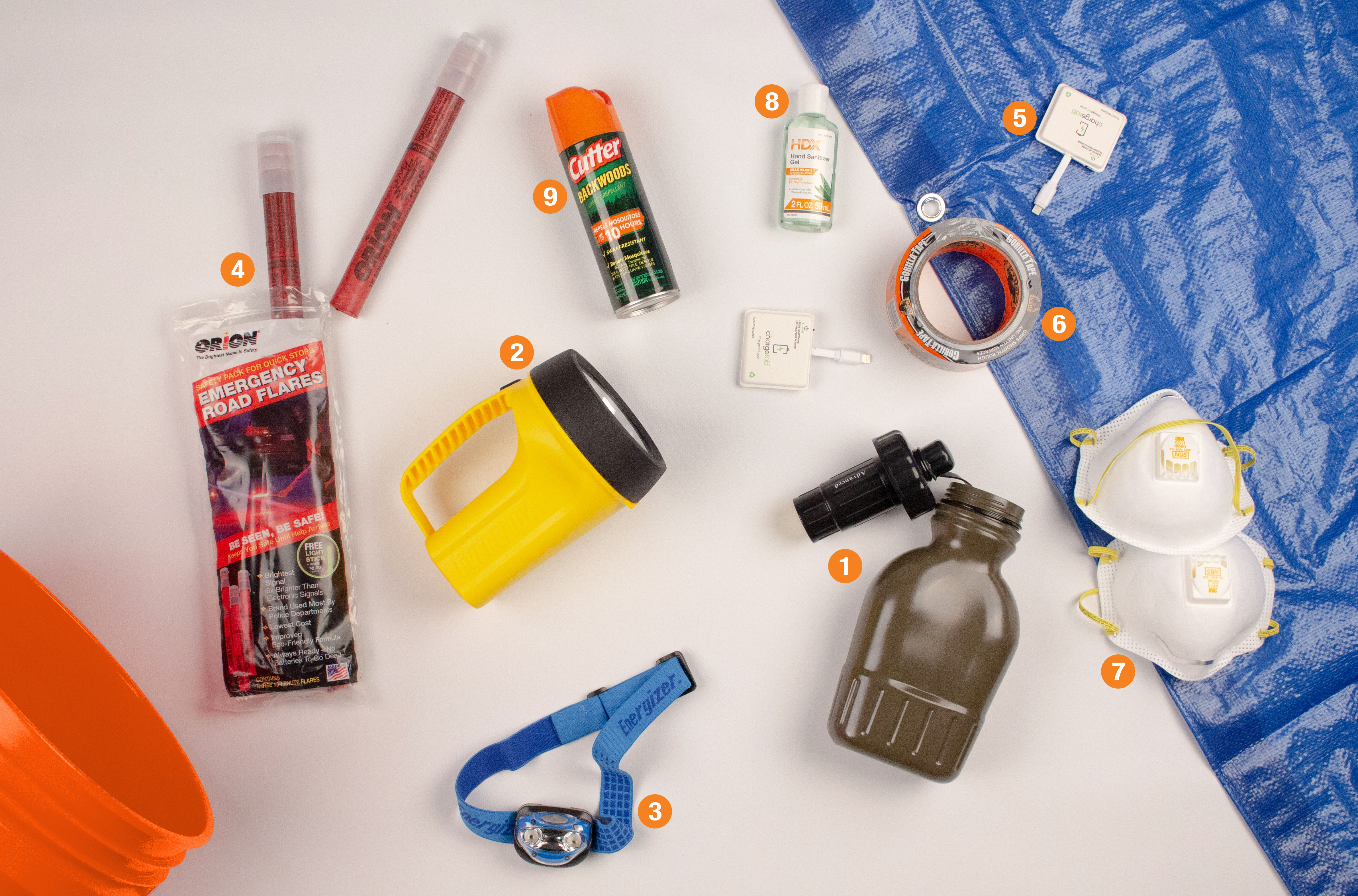 The Home Depot Nine Things To Include In Your Disaster