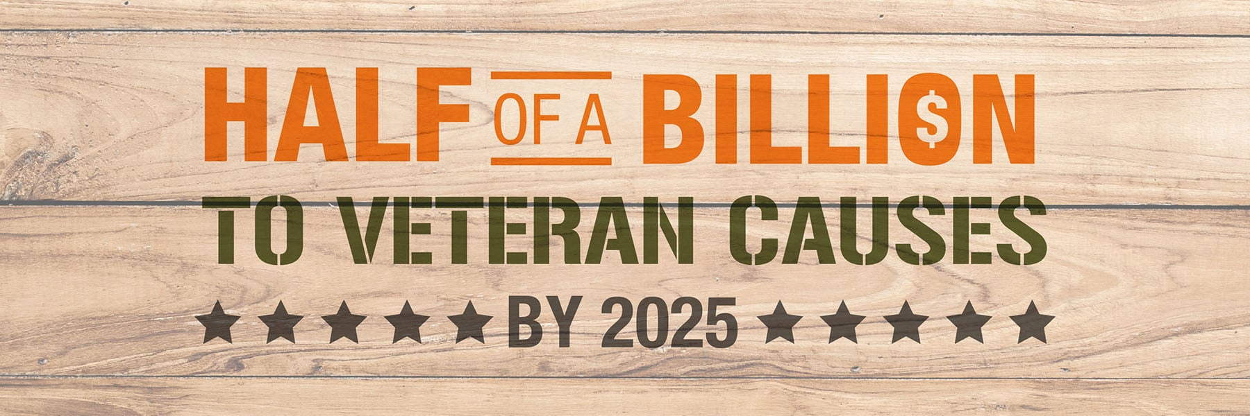 The Home Depot - Half of a Billion to Veteran Causes by 2025