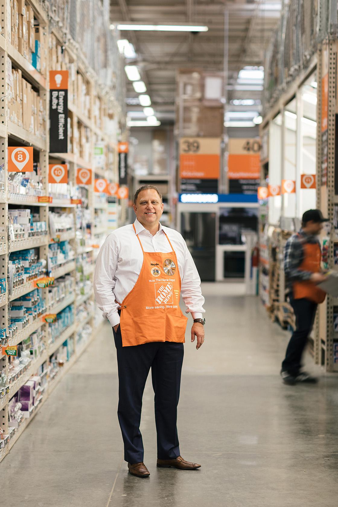 The Home Depot Haydn Chilcott President Western Divsion