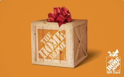 Home Depot holiday gift card