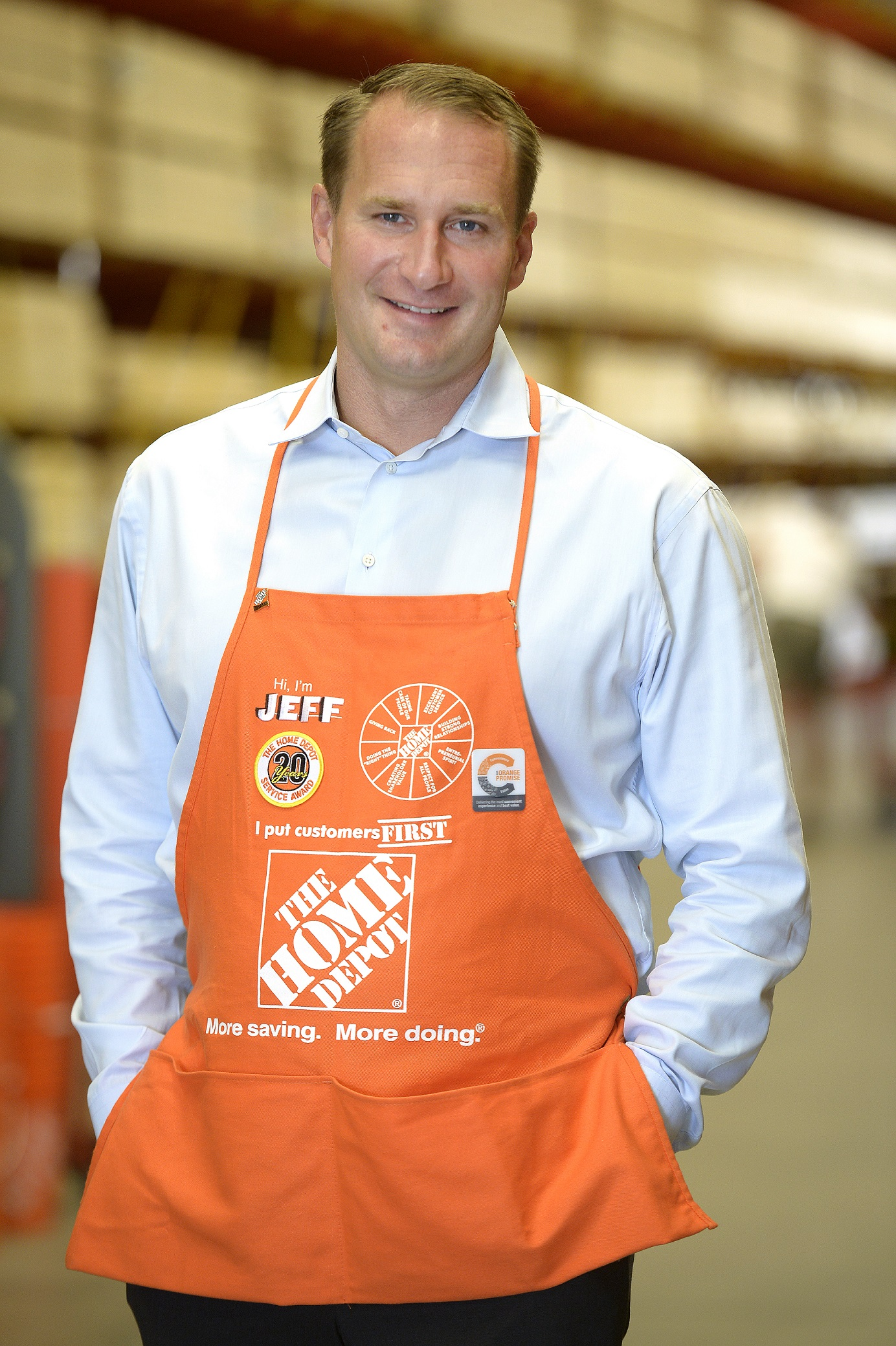 The Home Depot Jeff Kinnaird President Canada