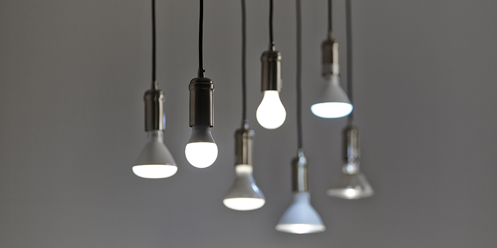 LED bulbs save money and energy
