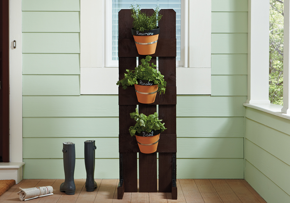 Wonderful Vertical Herb Garden Images