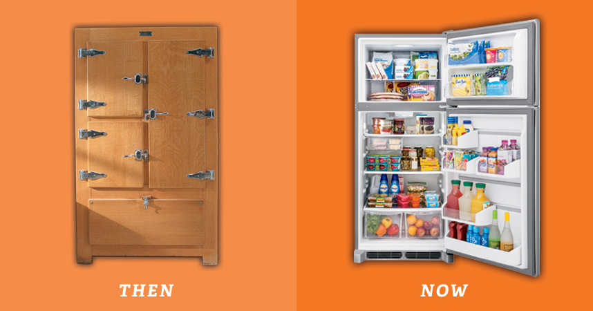 The Home Depot Vintage Vibes The Evolution Of Frigidaire