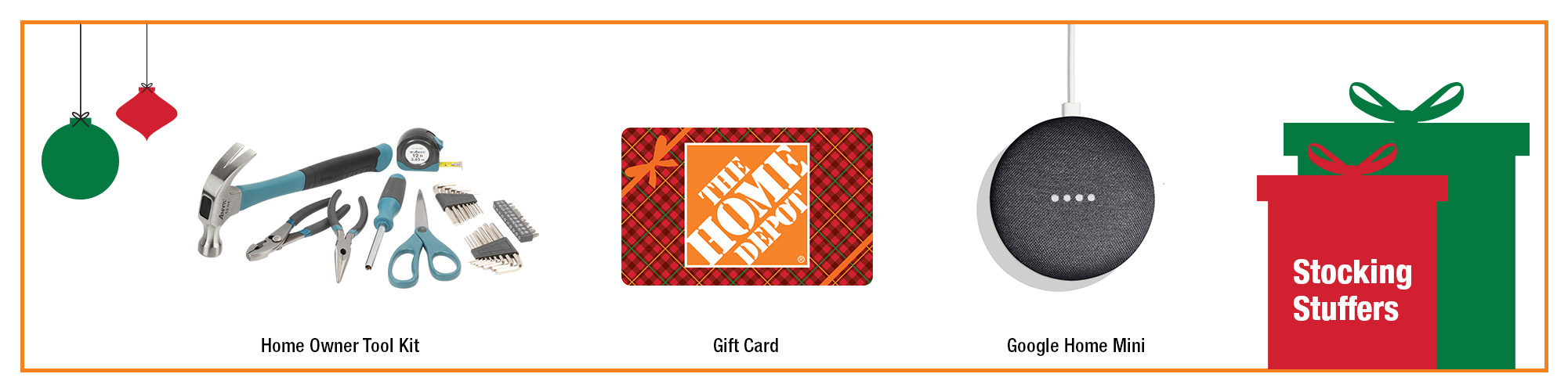 Stocking stuffers from The Home Depot