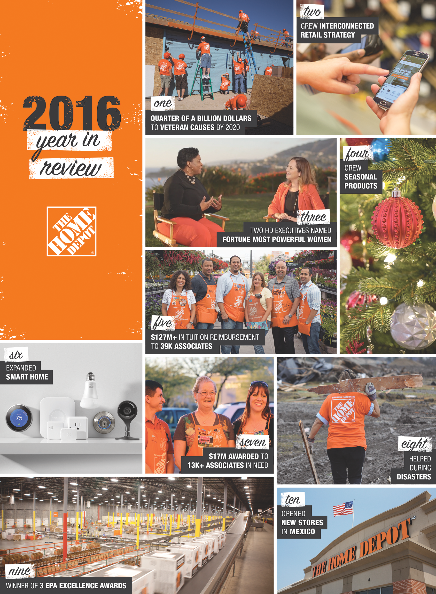 The Home Depot | THE HOME DEPOT YEAR-IN-REVIEW 2016