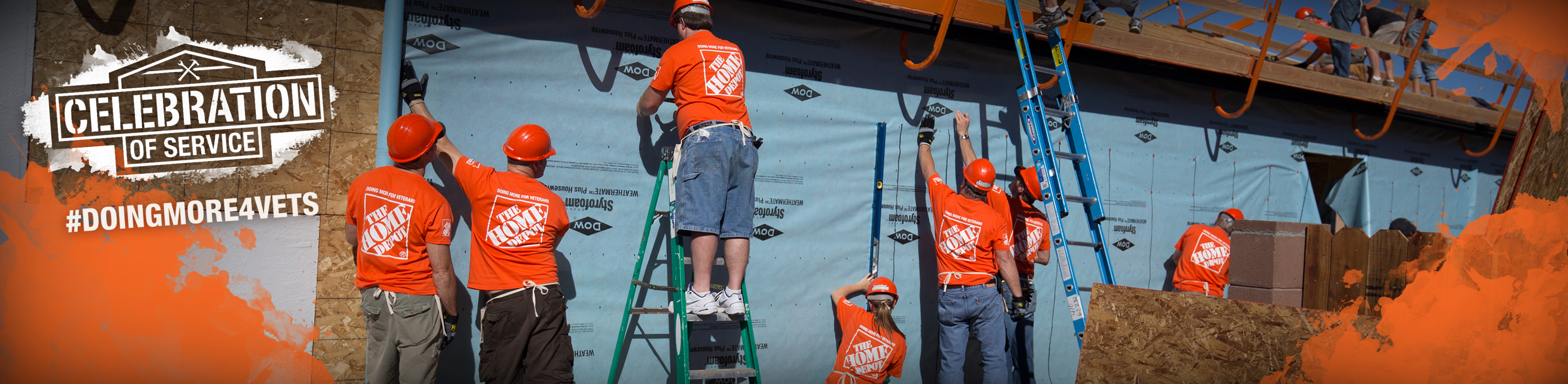 the home depot foundation and team depot our 300000 strong army of associate volunteers works to improve the homes and lives of us military veterans