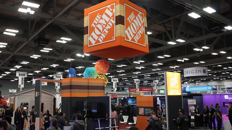 South by Southwest trade show floor