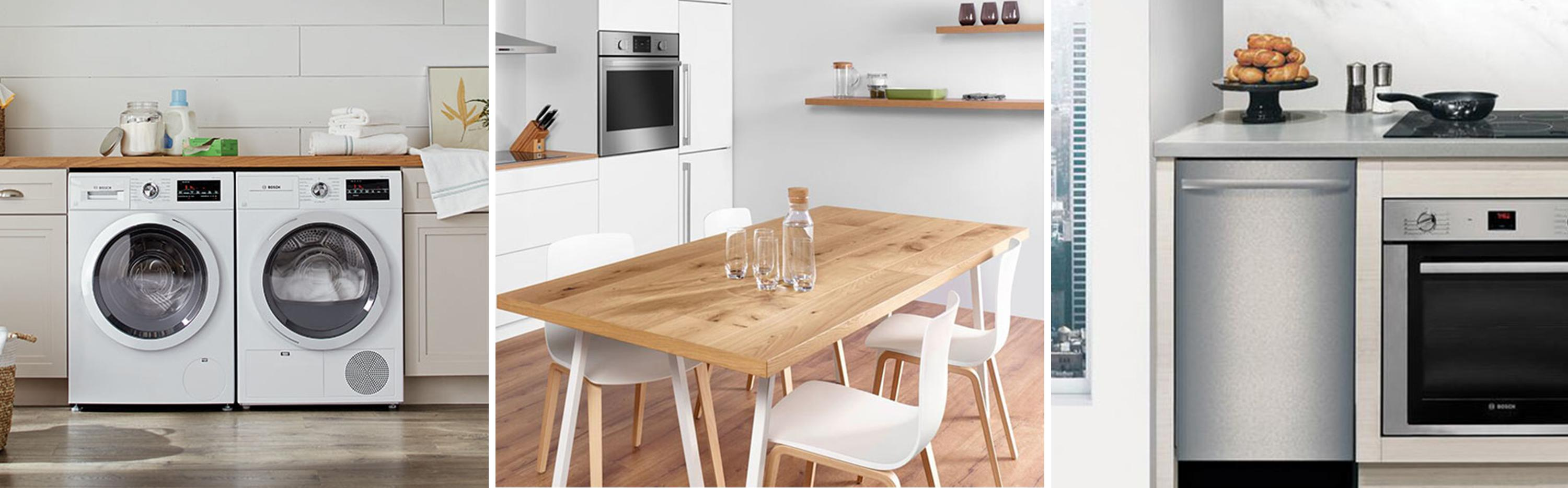 The Home Depot Bosch Appliances For Your Small Space