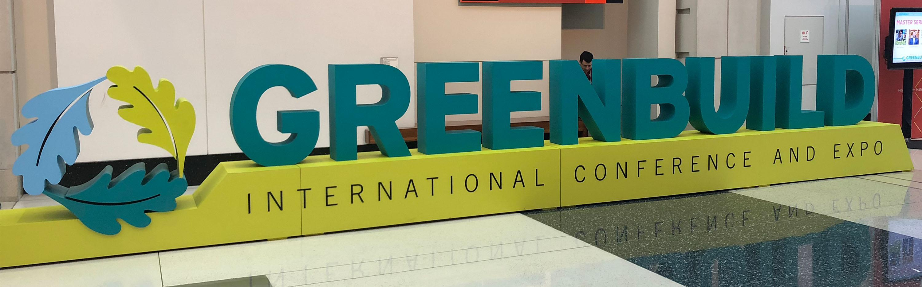 Featured Story: Key Uses for Recycled Content from Greenbuild 2018