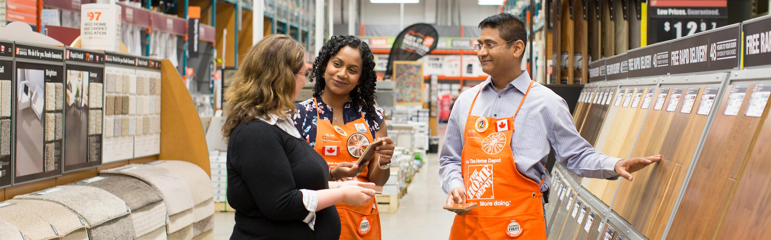 the home depot onboarding on go mobile lication enhances