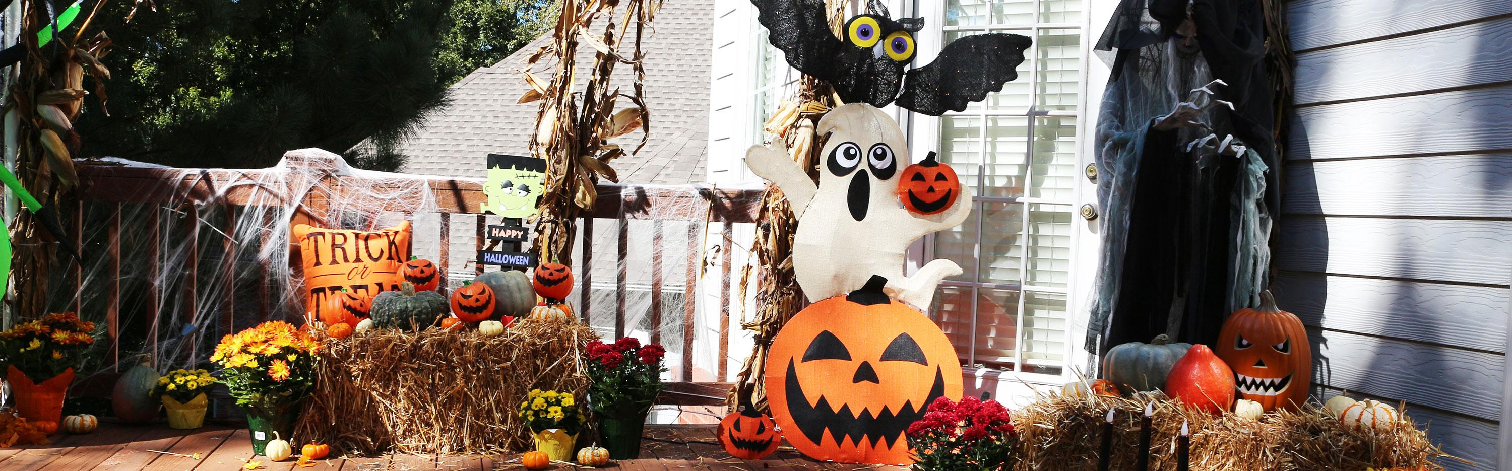 Halloween decor from The Home Depot