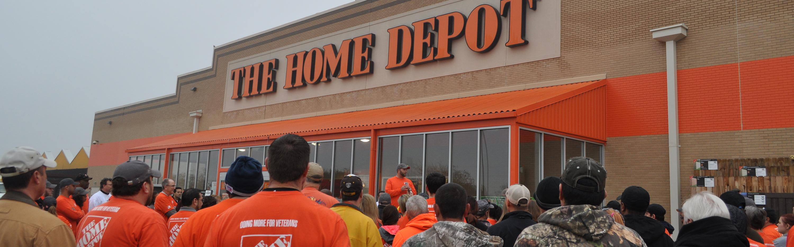 Home Depot store in Rowlett, TX