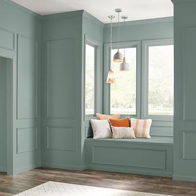 Behr color of the year painted wall
