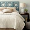 Behr color of the year painted headboard