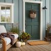 Behr color of the year painted front door