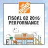 The Home Depot Announces Q2 2016 Earnings