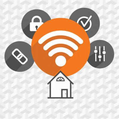 Smart Home WiFi illustration