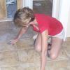 Cara inspecting tile