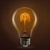Feit glass bulb with looped filament