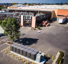 Fuel cells at a Home Depot parking lot