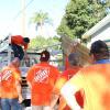 Team Depot volunteers at work