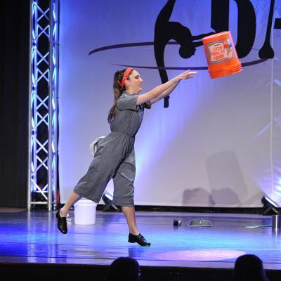 "The Home Depot | TAP DANCERS ""CLEAN UP"" THE COMPETITION WITH"