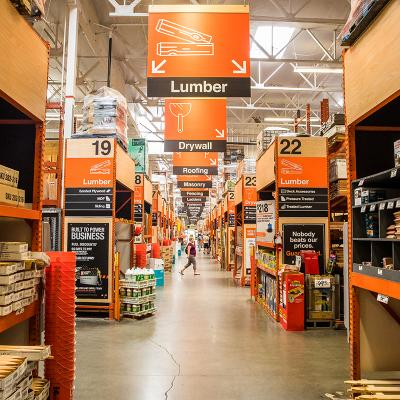 the home depot newsroom built from scratch