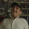 Korean War veteran laughing
