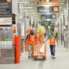 Home Depot associates in store