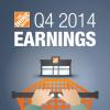 The Home Depot Announces Fourth Quarter And Fiscal Year 2014 Results
