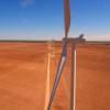 Wind turbines at Texas wind farm