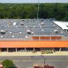 Home Depot roof filled with solar panels