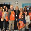 Team Depot volunteers and Shepherd Center staff