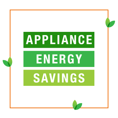 Appliances to help save energy.