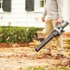 Home Depot fall lawn clean-up