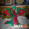 Gary the inflatable dragon